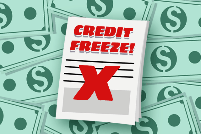 FHA Home Loan Applications and Credit Freeze Issues