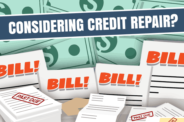 Repair Your Credit Before Your Home Loan: The First Step