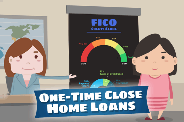 FHA One-Time Close Mortgages and Credit Issues